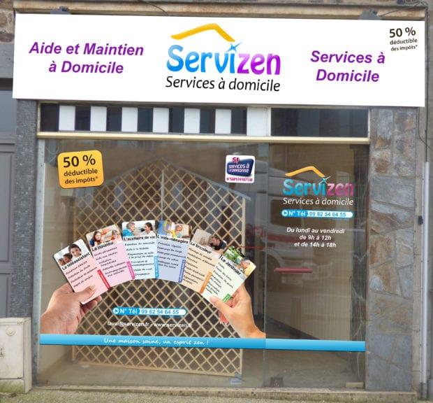 Service d'aide et maintien à domicile Servizen Ernée